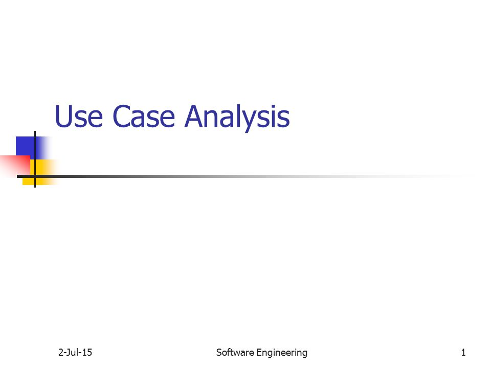 Use case study