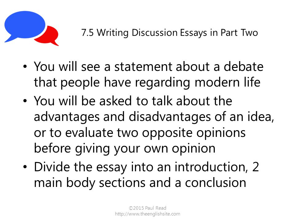 writing introduction discussion essay (model essay) sample discussion essay response posted on 29 january 2012 by ryan ielts general task 1: how to write at a band 9 level $ 1900.
