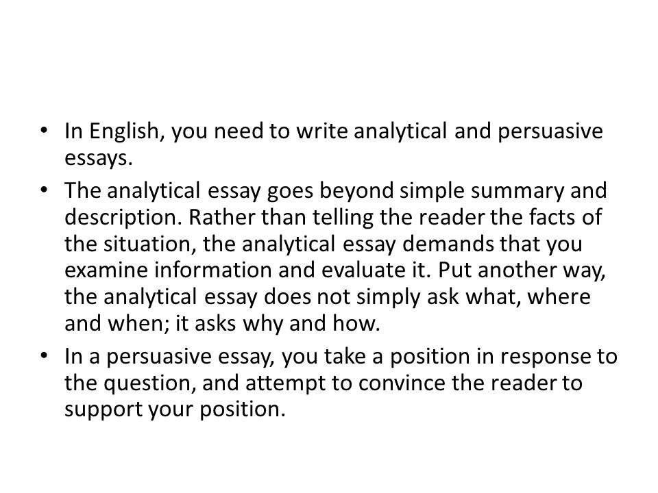 how to write analysis in essays Writing a critical analysis essay is a captivating process if you know the right structure and use the experience of the qualified experts who know all the intricacies of essay creation.