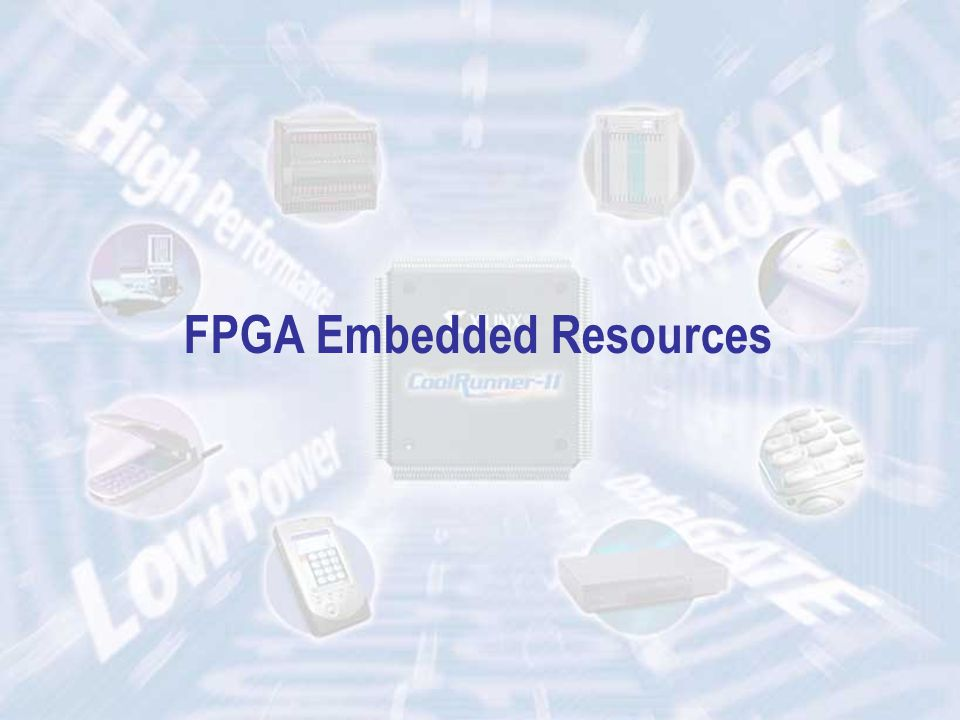 ECE 448 – FPGA and ASIC Design with VHDL FPGA Embedded Resources
