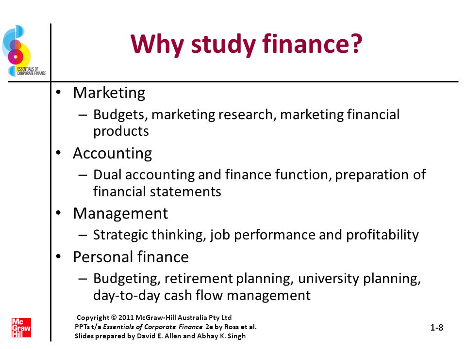 Personal Statement:Accounting and Finance 2 - The