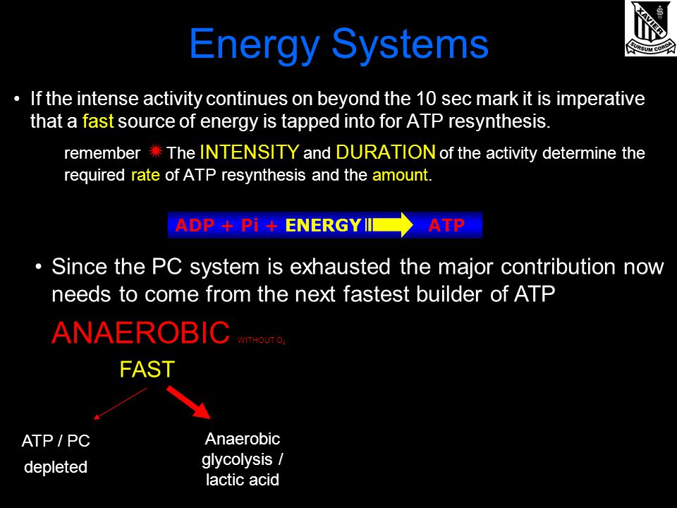re-synthesise atp Our atp demands increase with higher intensity exercise as does our oxygen requirements when exercising at very high intensities our demand for oxygen cannot.