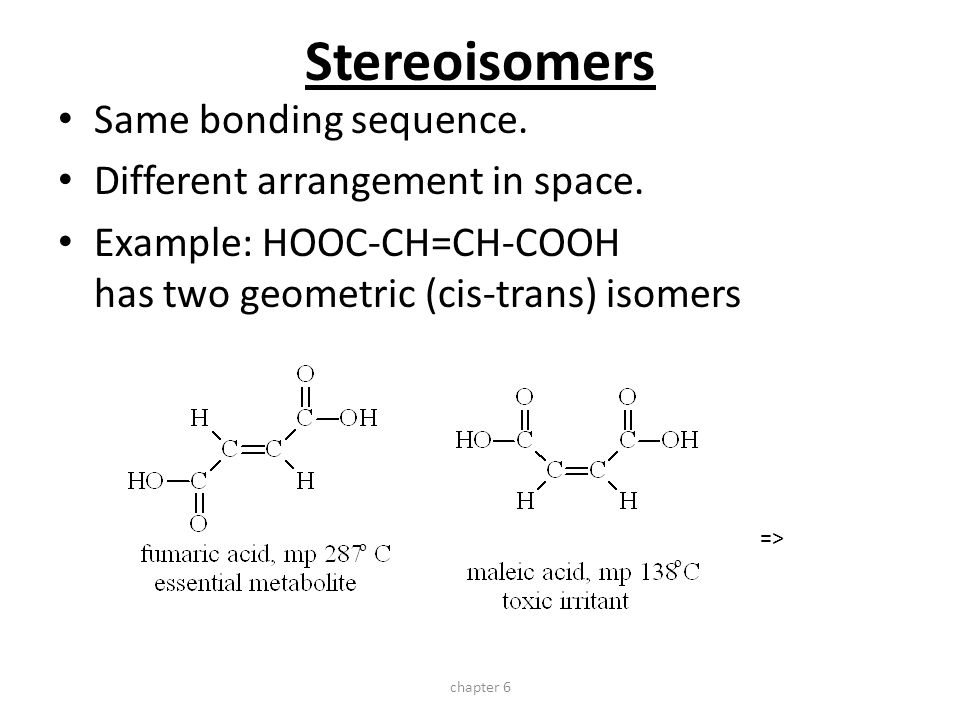 stereoisomerism essays Stereochemistry: chemistry that studies the properties of stereoisomers 4 historical perspective christiaan huygens (1629-1695) dutch astronomer,.