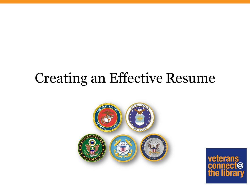 1 Creating An Effective Resume
