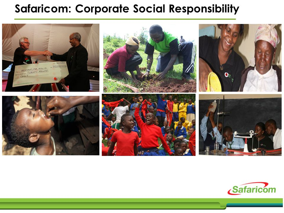 Safaricom: Corporate Social Responsibility