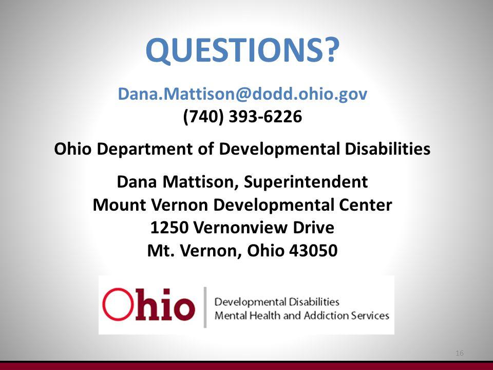 Developmental Disability Questions?