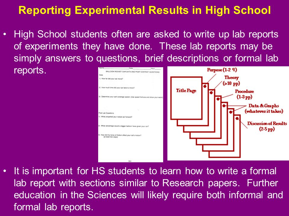 formal report for experiment 14 This formal report must be typed(with the exception of the in class notes) i 012-04630g microwave optics experiment 4: refraction through a prism equipment needed:.