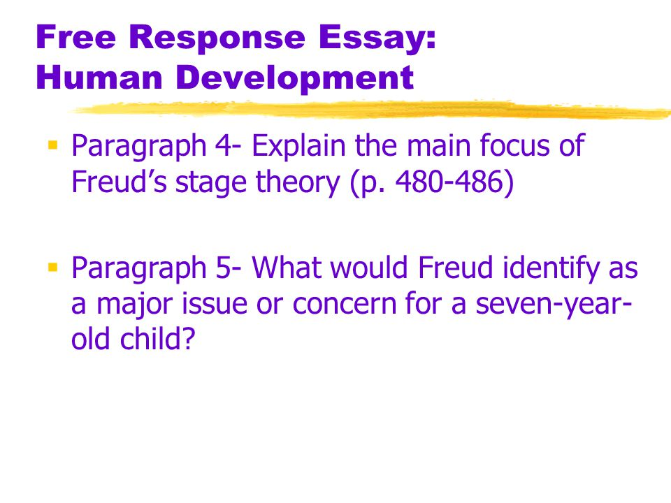 psychology essay on child development Theories in child development essaysdeterminants and mechanisms of child development are reflected in theories in western psychology which can be classified into three general approaches based on the suggested determinants of child development: - the nativist (maturational) approach to child deve.