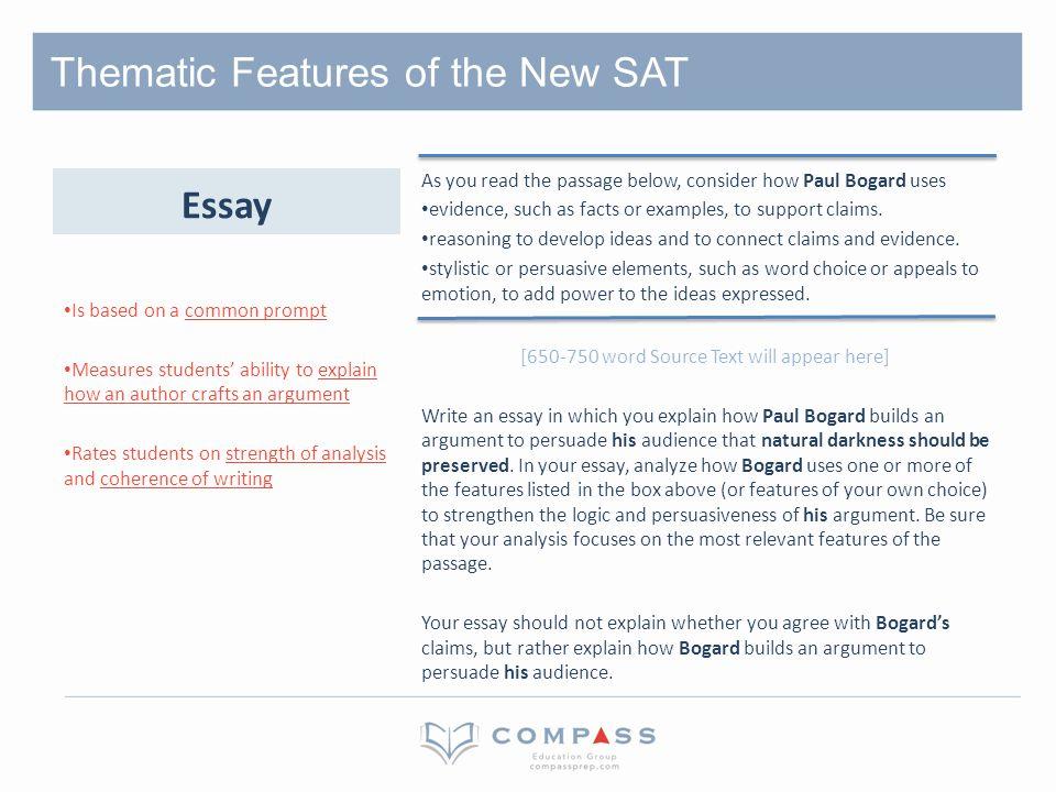 Please Grade my SAT essay? (Out of 6) & Criticize?