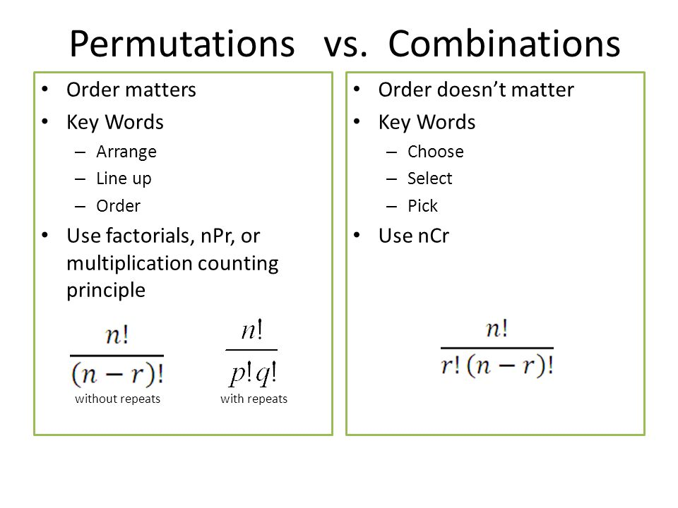 Combinations And Permutations Worksheet Worksheet – Permutations and Combinations Worksheet