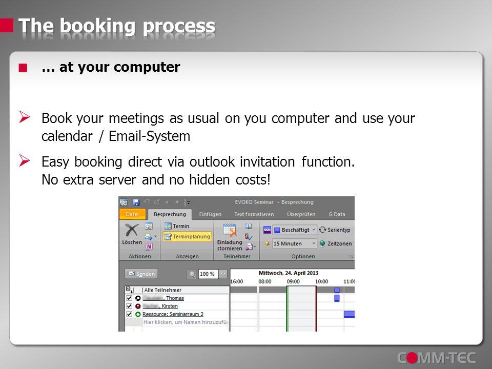 your booking stornieren