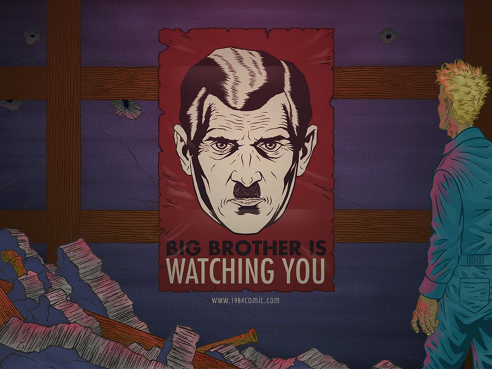 Help with the Big Brother theory from the book 1984 by George Orwell?