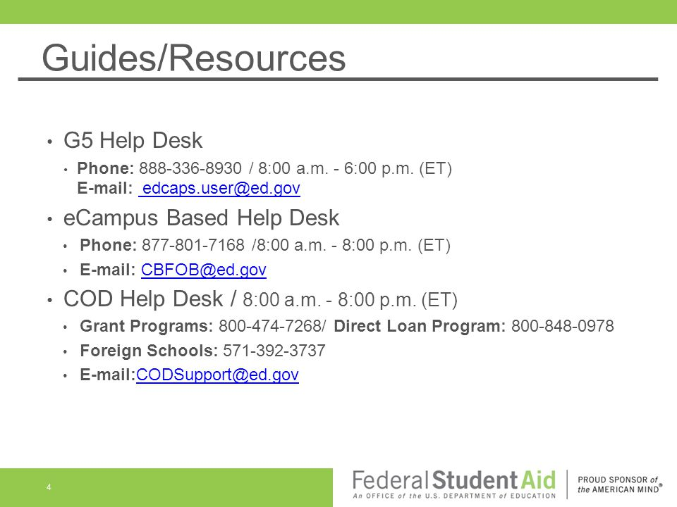 Guides Resources G5 Help Desk Phone 888 336 8930 8