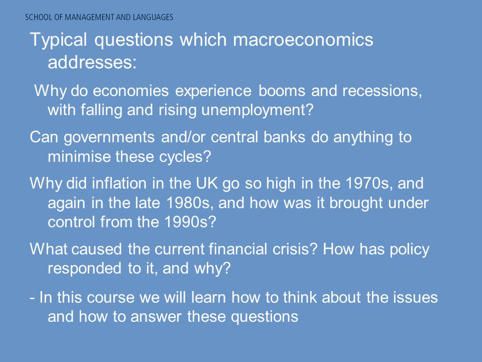 Macroeconomics Question...Can someone please help?