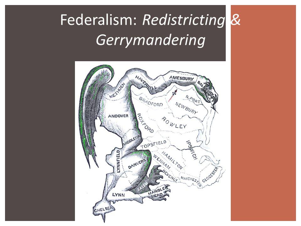 141 Eminent Domain BELL RINGER Federalism Redistricting – Gerrymandering Worksheet