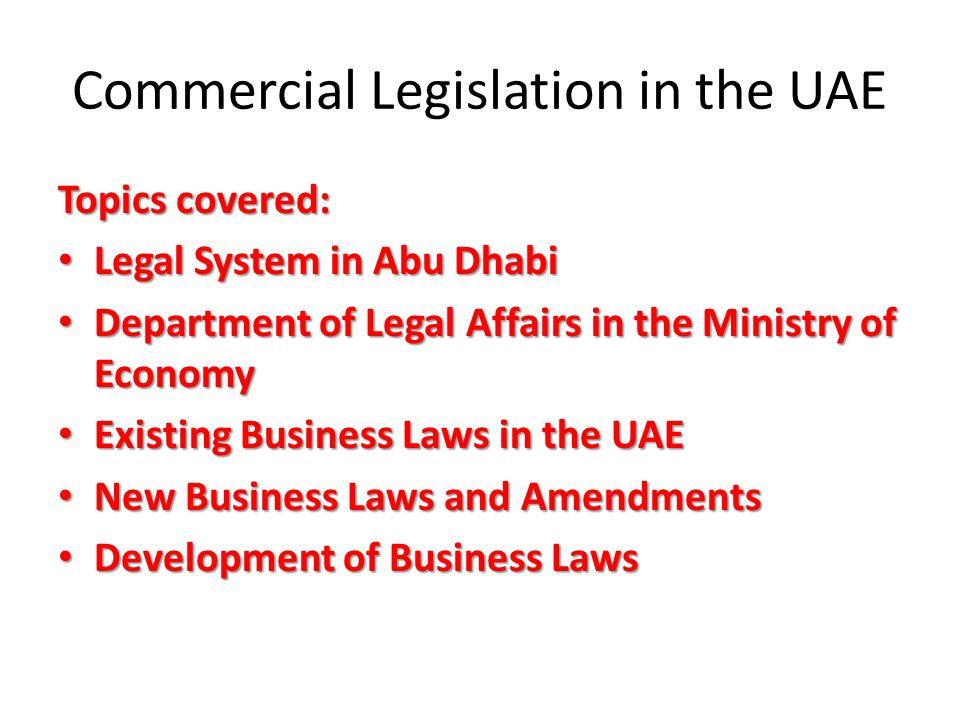 Part four commercial legislation in the uae legislative 4 commercial legislation sciox Gallery