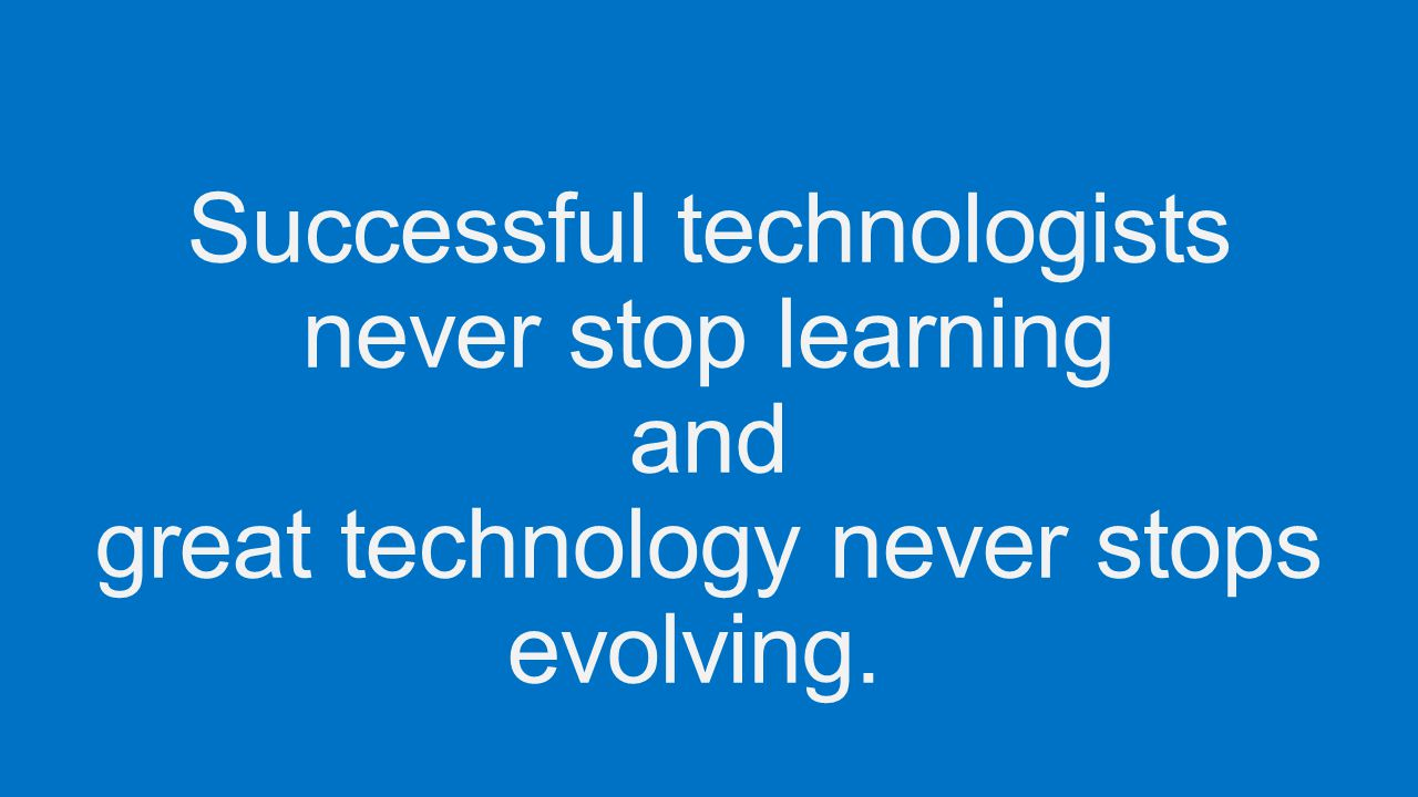 Microsoft virtual academy background graduated from asia pacific 4 successful technologists never stop learning and great technology never stops evolving 1betcityfo Gallery