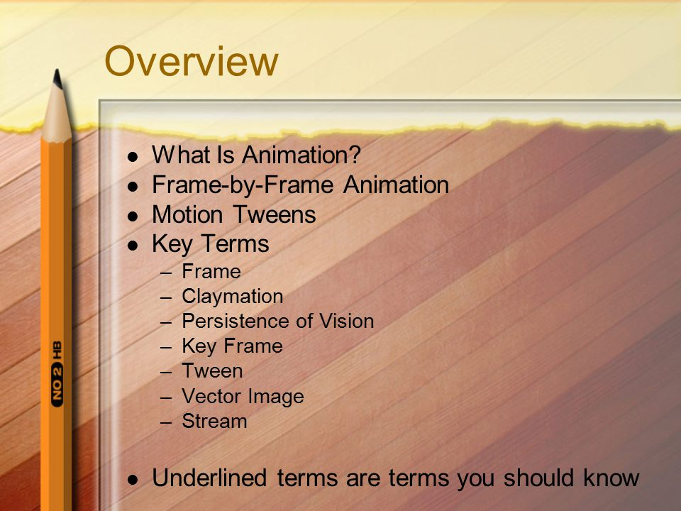 What are vocabulary/ key terms?