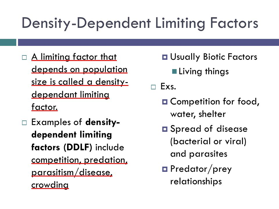 Limiting Factors Levels Of Organization Overview Cells