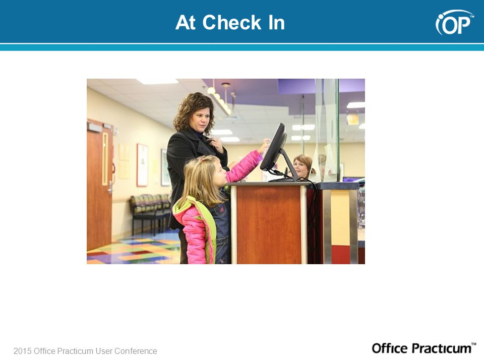 2015 Office Practicum User Conference At Check In