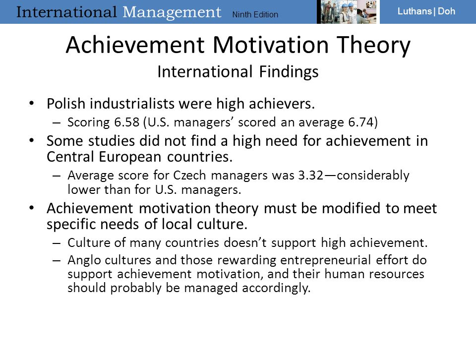 "Presentation ""International Management Ninth Edition Luthans 