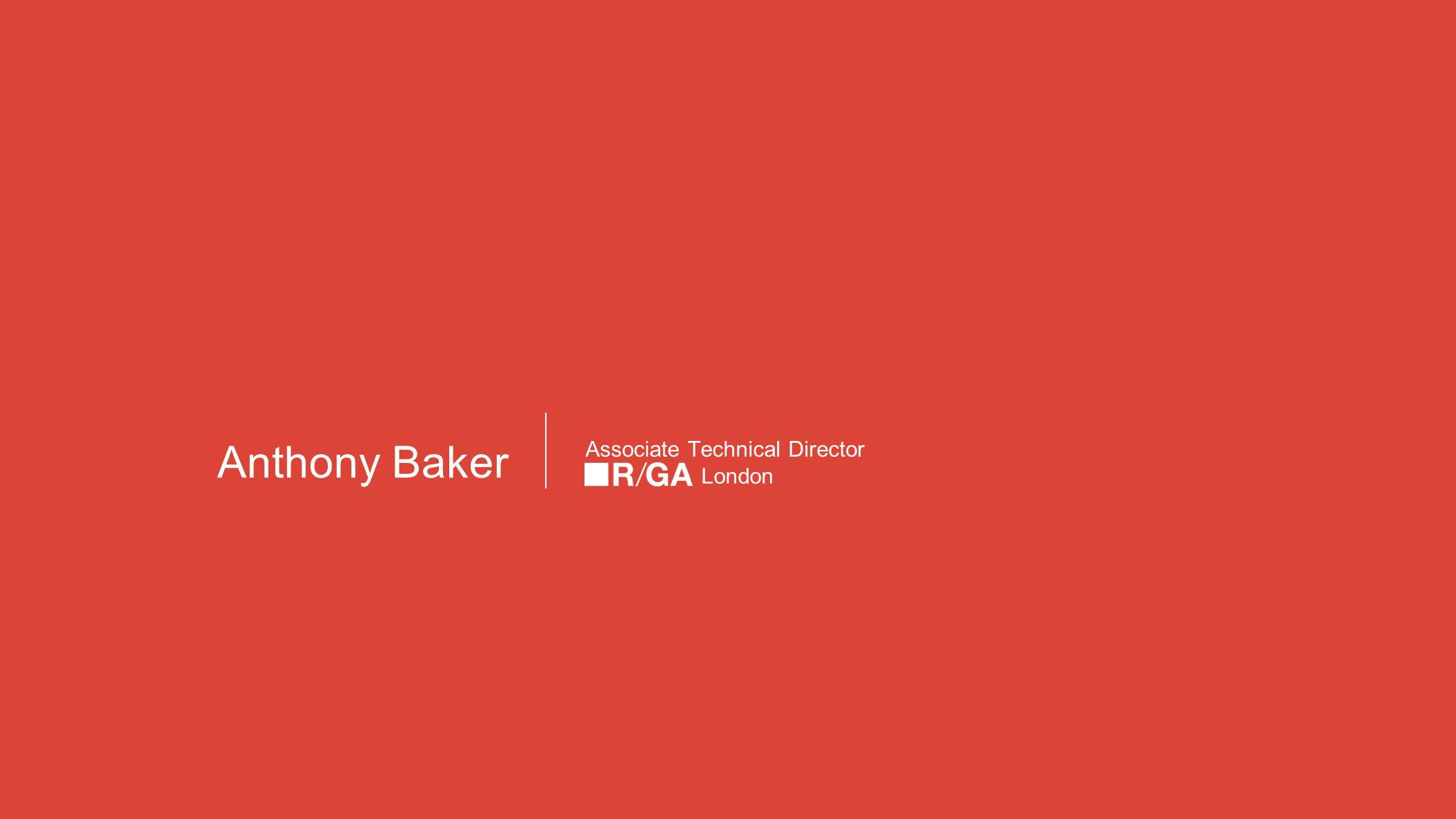 Google themes london - 2 Anthony Baker Associate Technical Director London