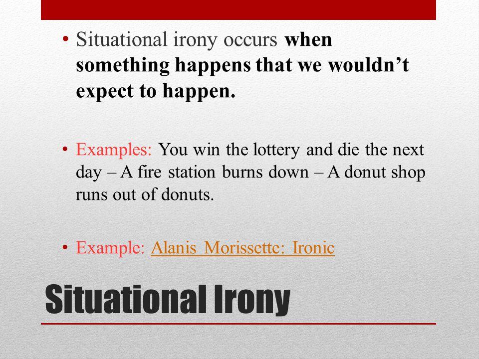 Irony Example] Example Of Irony Satire Irony Parody Sarcasm ...