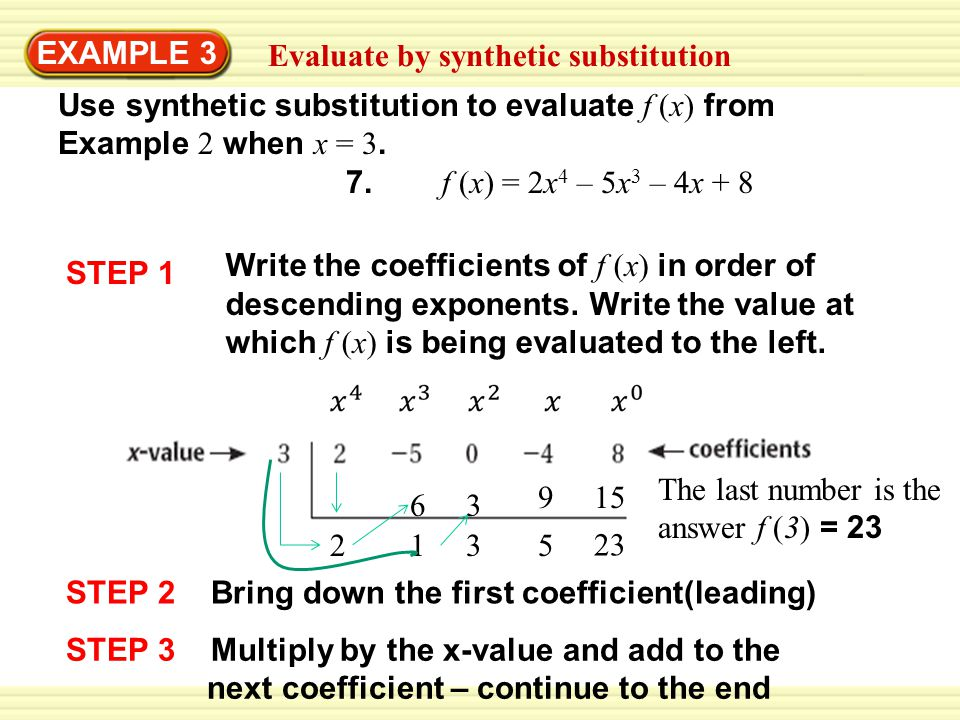 Warm Up #8 Evaluate the expression when x = –4 1. x2 + 5x - ppt download