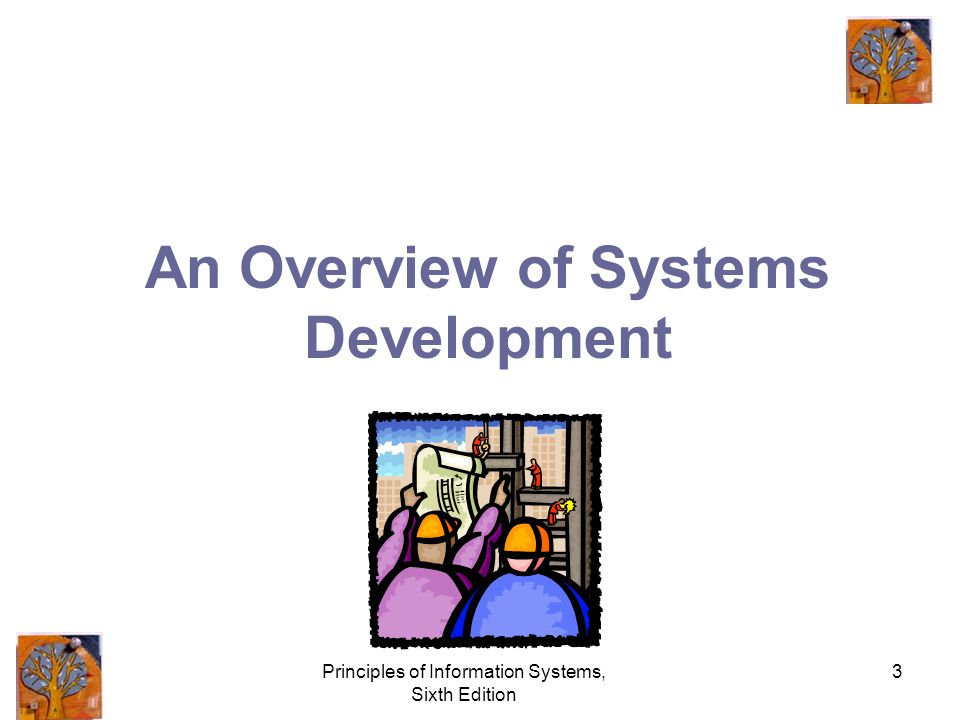 Principles of Information Systems, Sixth Edition 3 An Overview of Systems Development