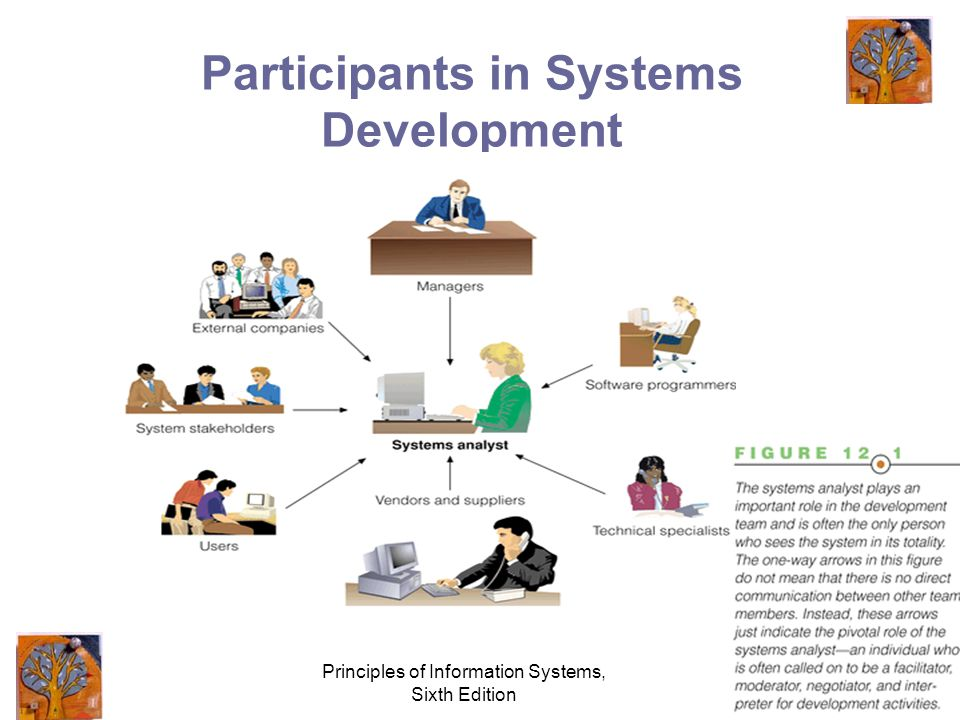 Principles of Information Systems, Sixth Edition 4 Participants in Systems Development