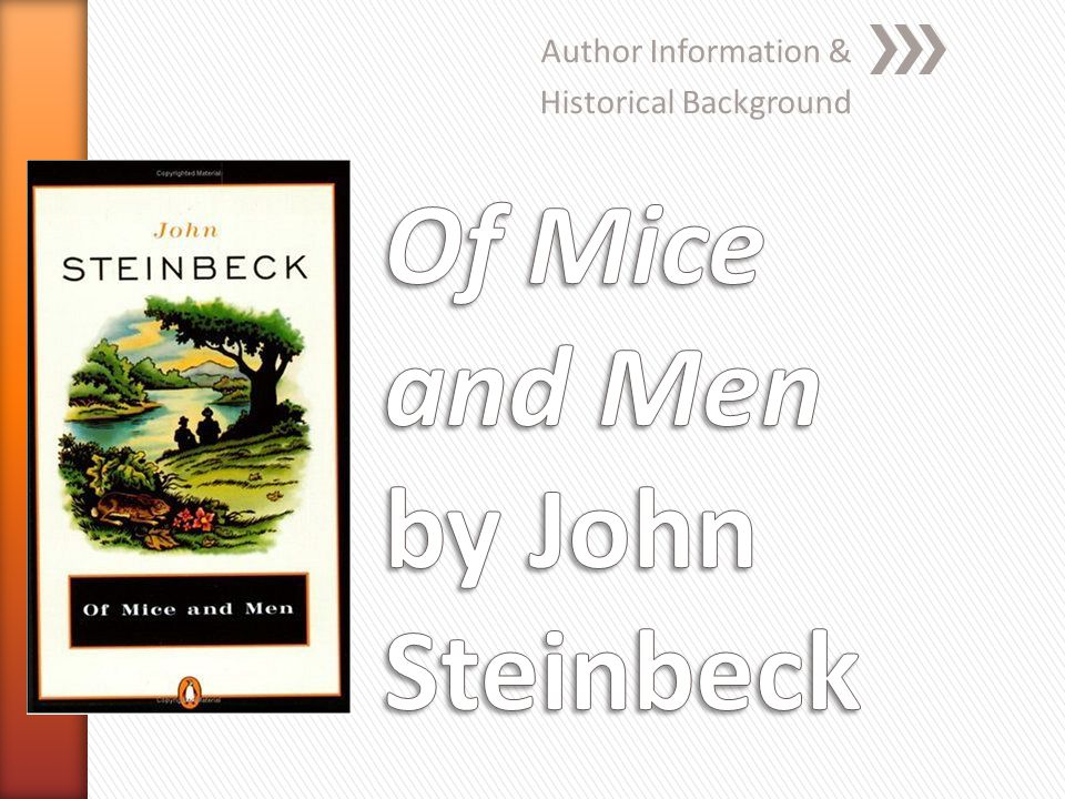 john steinbeck and the context of