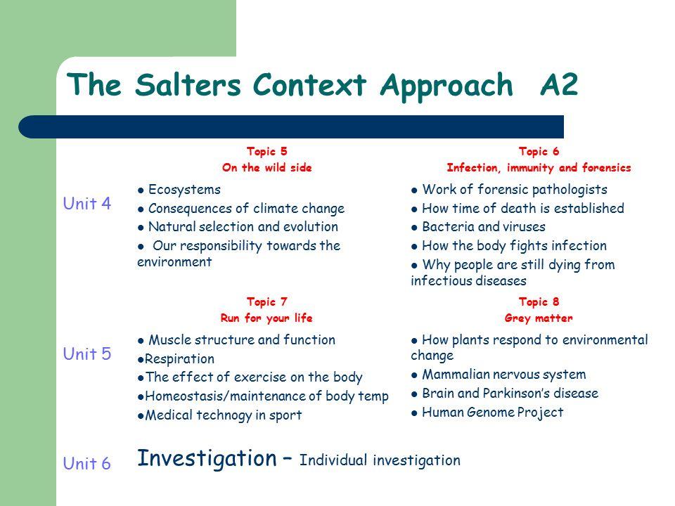 salters chemistry coursework mark scheme