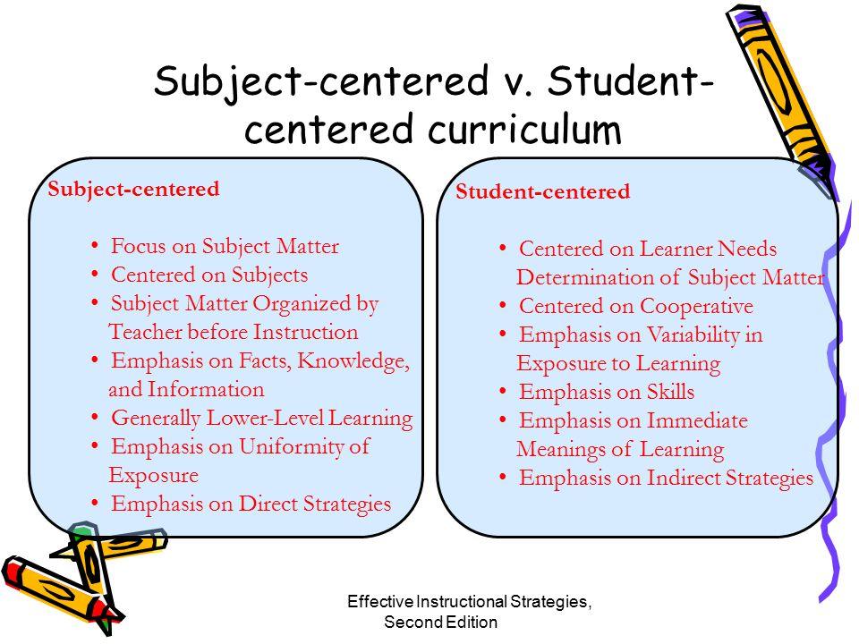 Subject-centered v.