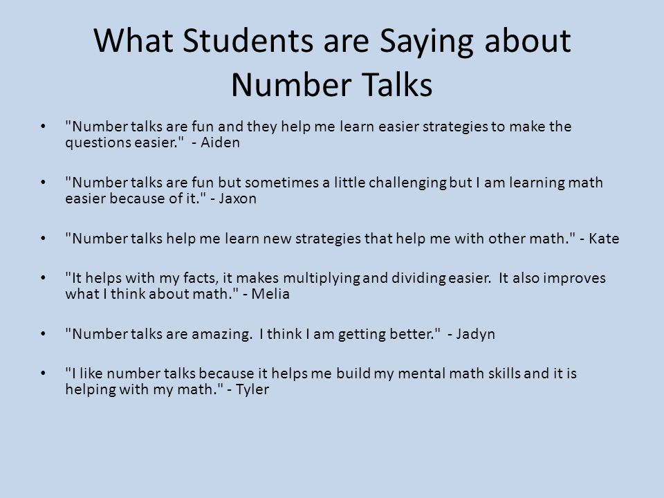 number sense and mental math a small but mighty instructional task 51 what