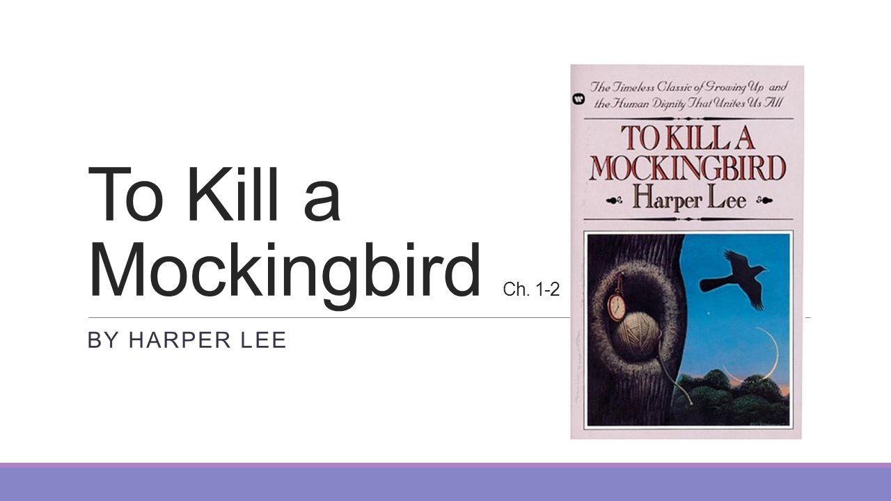 the contrast of the two families in to kill a mockingbird by harper lee