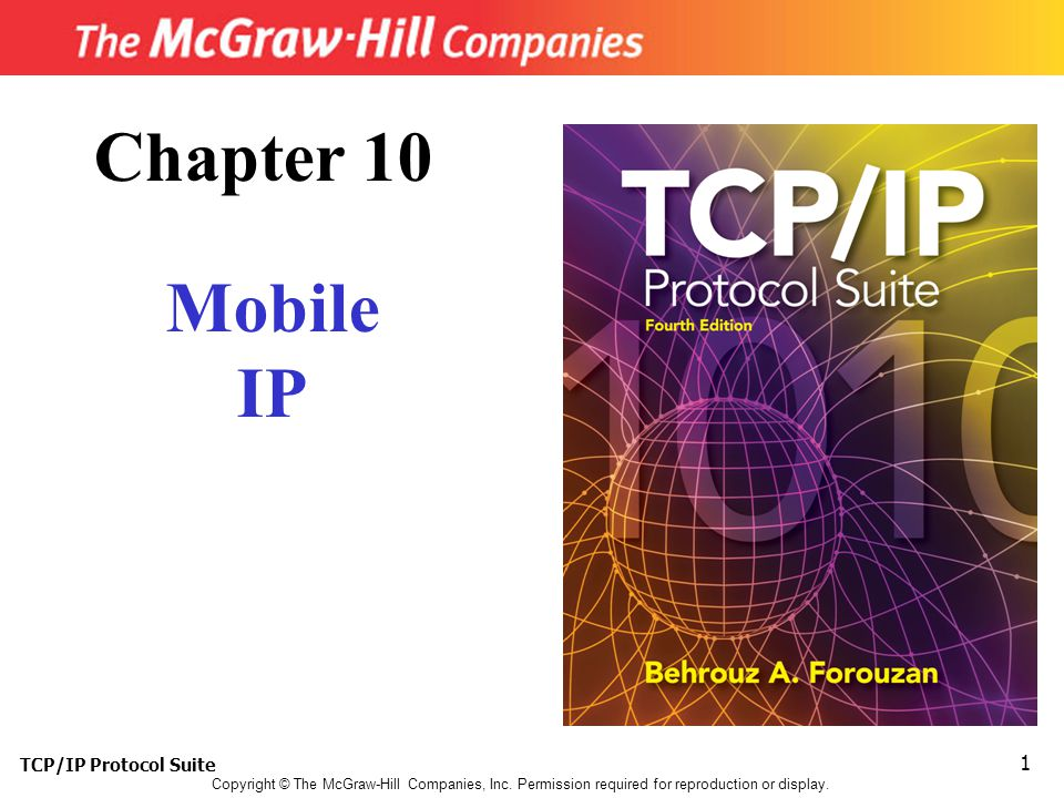 TCP/IP Protocol Suite 1 Copyright © The McGraw-Hill Companies, Inc.