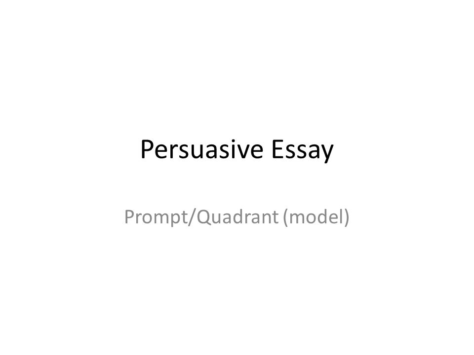 persuasive essay prompt quadrant model c attention getter 1 persuasive essay prompt quadrant model