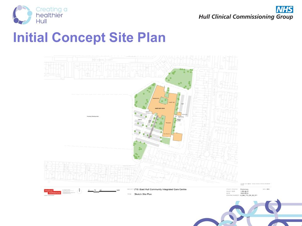 Initial Concept Site Plan