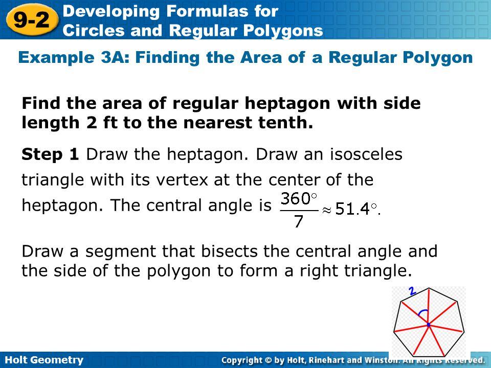 Area of regular polygons worksheet doc