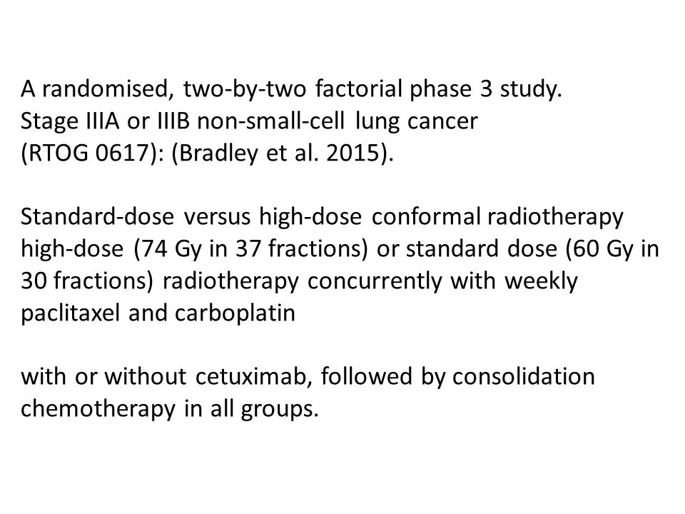 A randomised, two-by-two factorial phase 3 study.