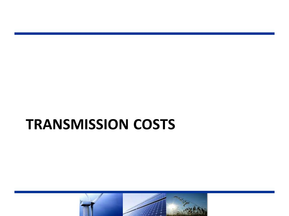 TRANSMISSION COSTS