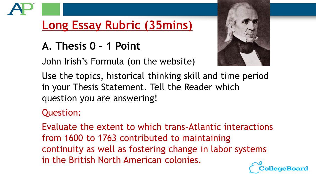 ap us history essay questions