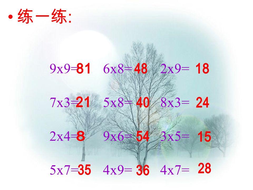 一一得一 一二得二 二二得四 一三得三 二三得六 三三得九 一四得四 二四得八 三四十二 四四十六 一五得五 二五一十 三五十五 四五二十 五五二十五 一六得六 二六十二 三六十八 四六二十四 五六三十 六六三十六 一七得七 二七十四 三七二十一 四七二十八 五七三十五 六七四十二 七七四十九 一八得八 二八十六 三八二十四 四八三十二 五八四十 六八四十八 七八五十六 八八六十四 一九得九 二九十八 三九二十七 四九三十六 五九四十五 六九五十四 七九六十三 八九七十二 九九八十一 乘法口诀表