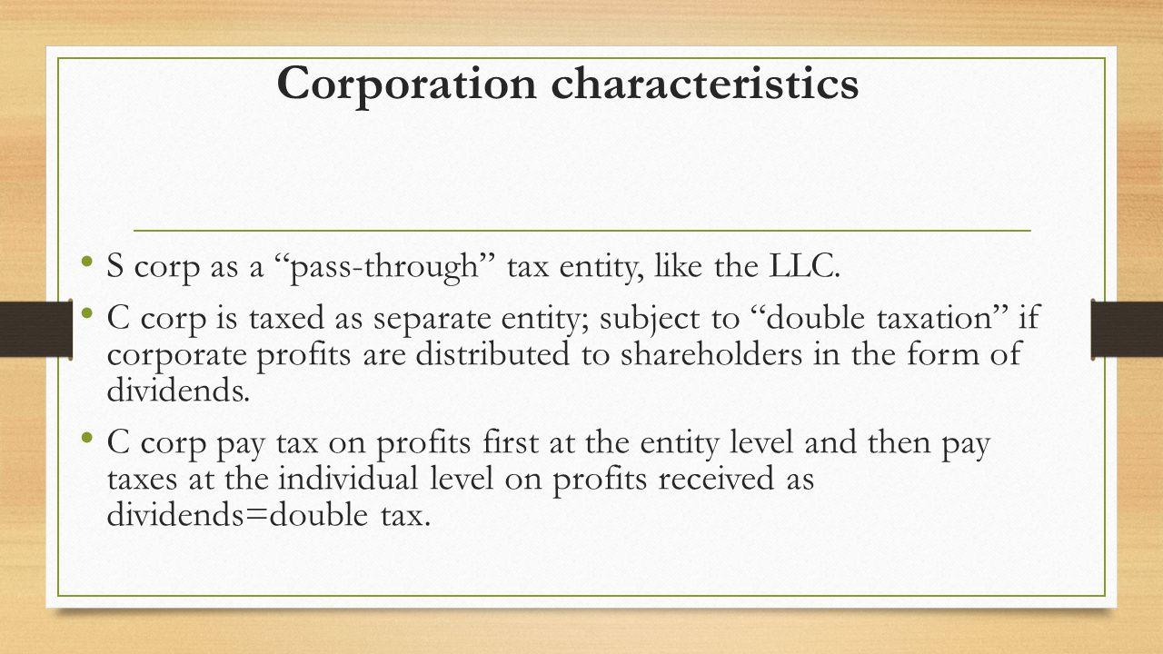 Llc vs corporation