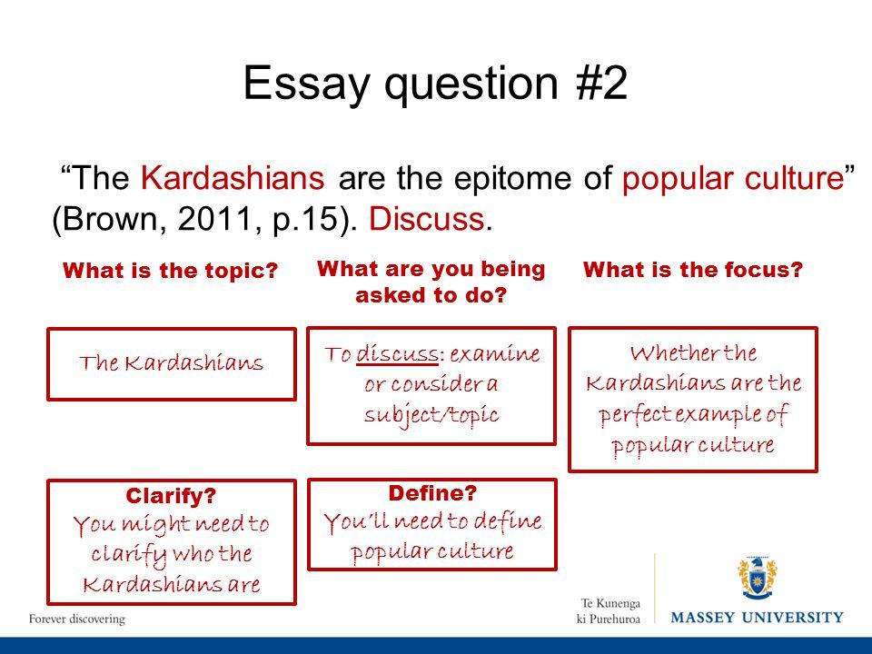 define popular culture essay - Wunderlist