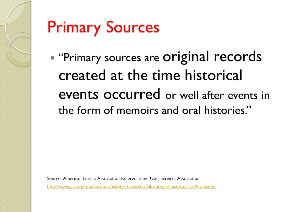How do I incorporate a primary source into my research paper?