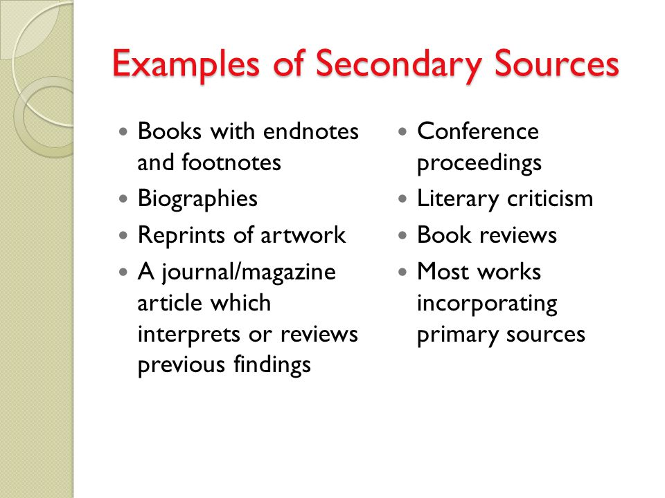 Can an online article count as a primary source?