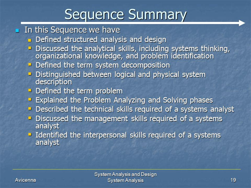 define analytical skills