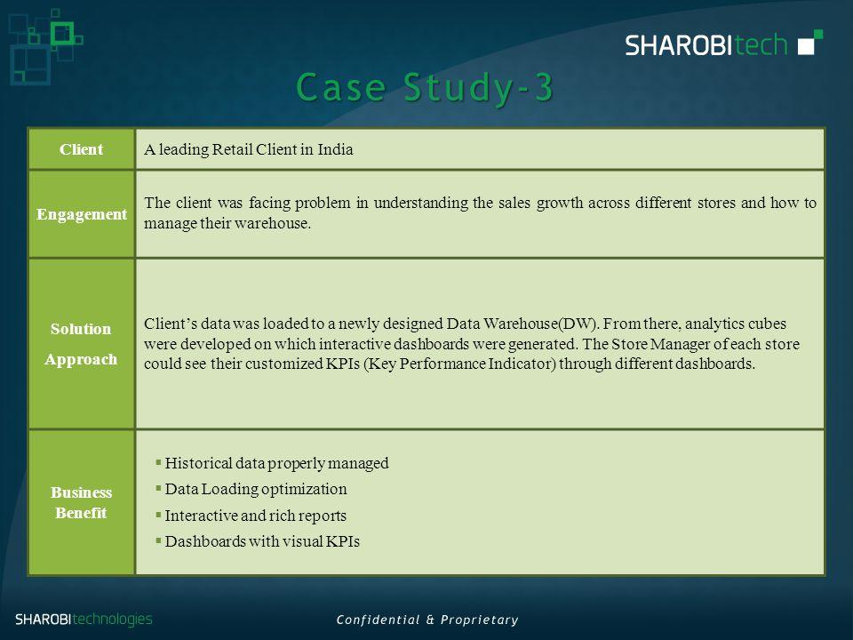 warehouse case study india