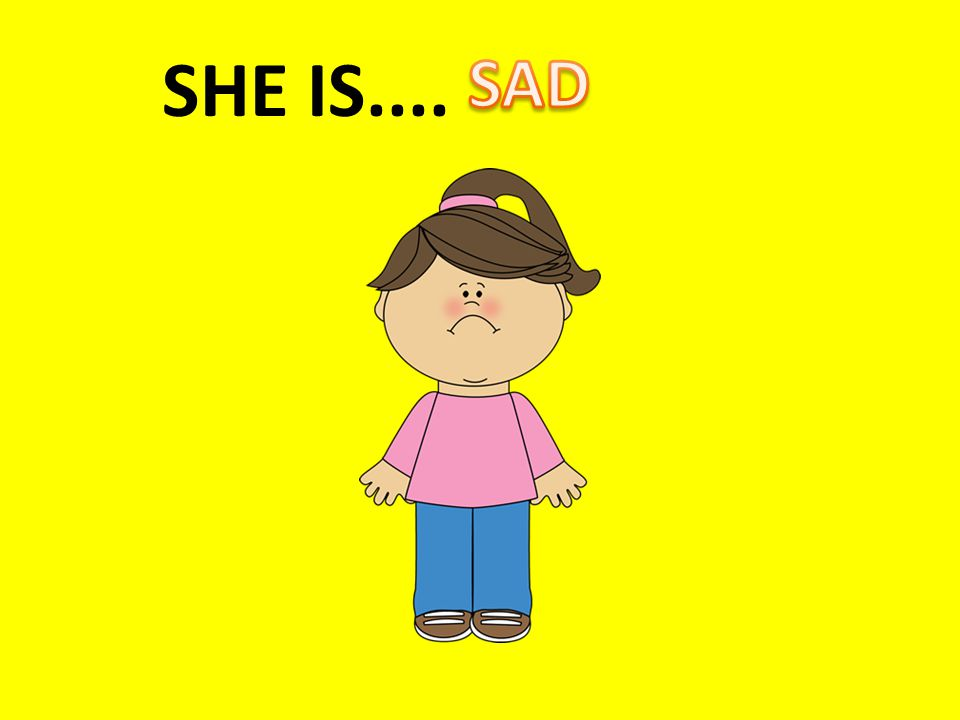 SHE IS....